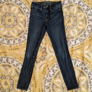 Dark Wash Jeans American Eagle Outfitters